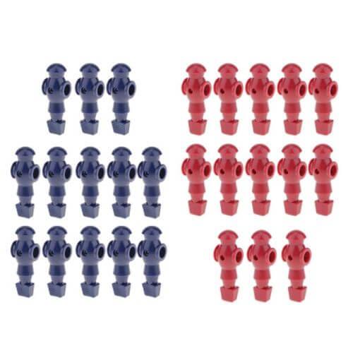 Counterbalanced Foosball Figures