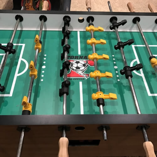Tornado Foosball Table Cons