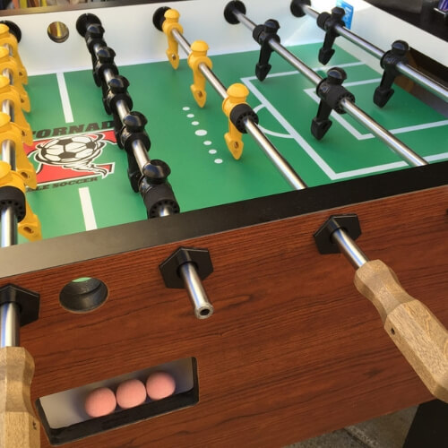 Tornado Foosball Table Features and Specifications