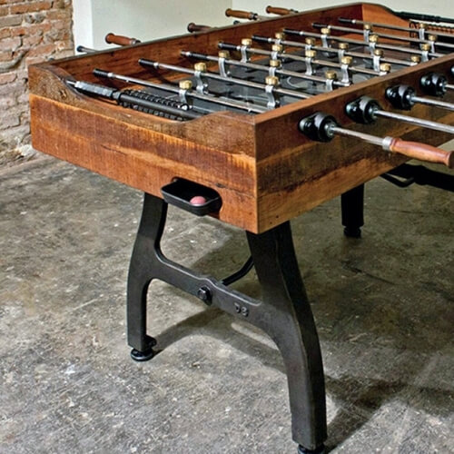 What is a Solid Foosball Table